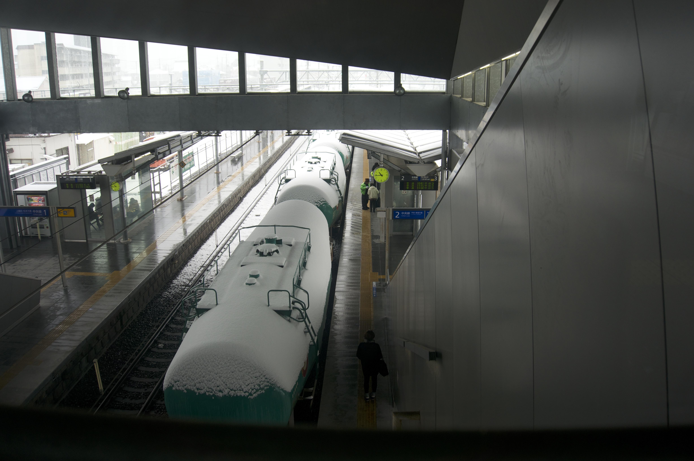 [晴雨]大雪の山梨から上京!事前に準備したモノ!!