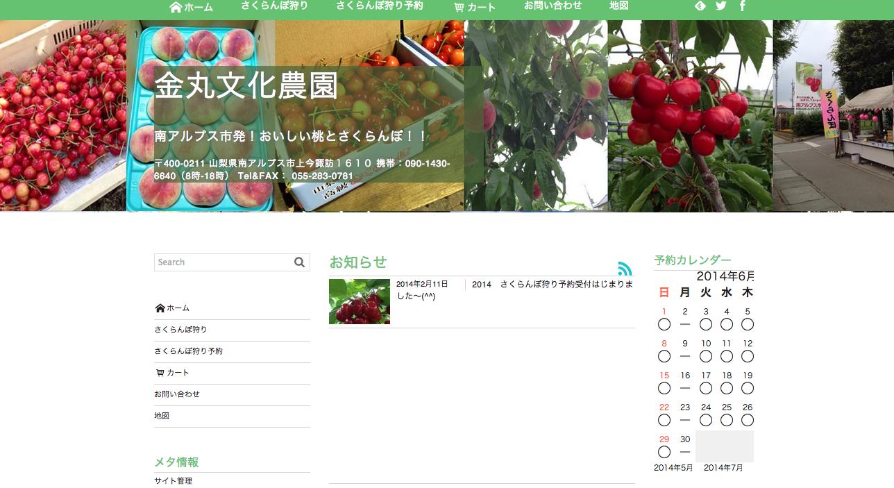 初心者がWordPressで作るビジネスサイト・農園ホームページその3