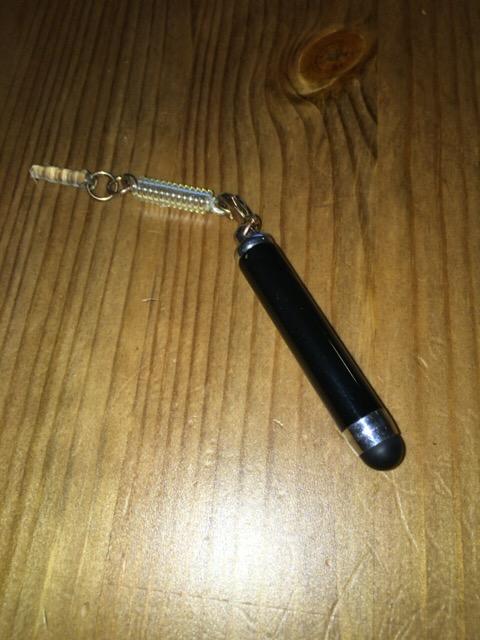 ミニタッチペンがガテンのスマホを楽にする!