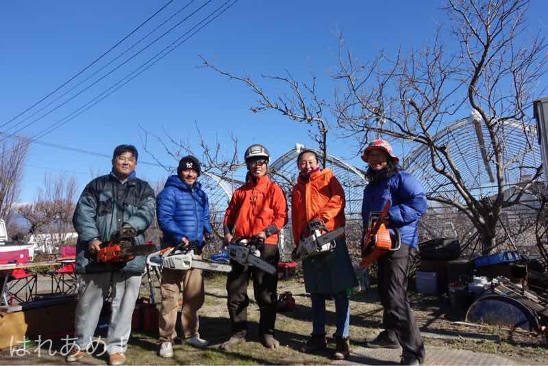 ショイコニスト塩澤のチェーンソー使いこなし講座を開催しました。